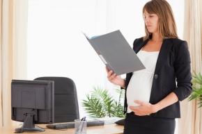 grávida trabalho